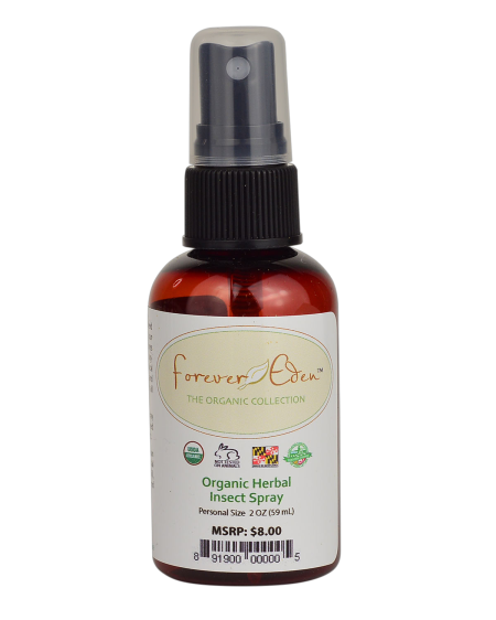 Certified Organic Herbal Insect Spray